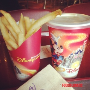 French Fries & Beverage